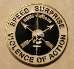 5th Special Forces Airborne Advanced Urban Combat Ser0416 Army Challenge Coin
