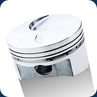206044 Srp Pistons 351 Cleveland Flat Top 357 Ford 4.030 Bore 9.01 Compression