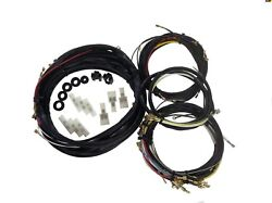 1956-1957 Vw Volkswagen Beetle Convertible Complete Wiring Harness Made In Usa