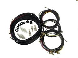 1962-1964 Vw Volkswagen Beetle Convertible Complete Wiring Harness Made In Usa