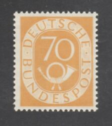 Germany Stamp 683 — 70pf Post Horn -- 1952 -- Mint