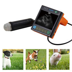 Msu3 Veterinary Ultrasound Machine - Pregnancy Detection In Dogs Pigs Goats...