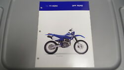 Yamaha 2006 Off Road Tt-r250 Dealers Sales Specifications Chart Data Sheet