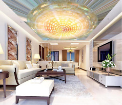 3d Shining Flower 505 Ceiling Wall Paper Print Wall Indoor Wall Murals Ca Jenny