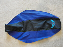 One Industries Black And Blue Grip Seat Cover