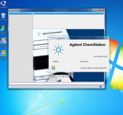 Agilent Chemstation Lc B.04.03 G2170ba Loaded On Dell Windows 7 Pro Computer