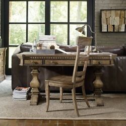 Beaumont Lane 60 Writing Desk In Light Antique Taupe