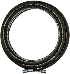 Parker 75and039 X 1/2 1250 Psi Rubber Air Compressor Hose 3/8 Male Ends New