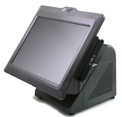 7616-1500 Ncr 72xrt Pos Terminal With Msr, Biometric, And Rear Display