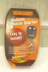 NEW Bulldog Security Remote Vehicle Car Starter System RS82 Start