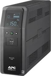 Apc - Back-ups Pro 1500va 10-outlet/2-usb Battery Back-up And Surge Protector...