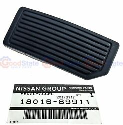 Genuine Nissan Pulsar N14 N15 Throttle Accelerator Pedal Pad Rubber Cover