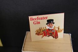 Dolls House Metal Sign Beefeater Gin