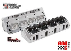 E-force Hp By Edelbrock Aluminum Cylinder Heads Pair For Ford Sbf 302 170cc 60cc