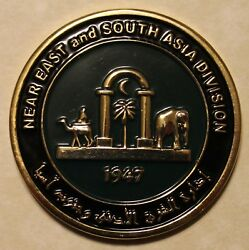 Central Intelligence Agency Cia Near East And S. Asia Div Station Challenge Coin
