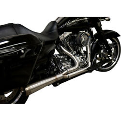 Trask Assault Straight 2 Into 1 Full System Exhaust Harley Touring Flht 09-16