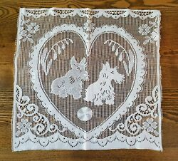 Scottie (Scottish Terrier) DogsHeart Lace Panel