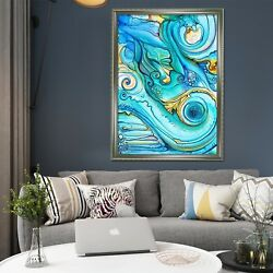 3d Color Abstract 442 Fake Framed Poster Home Decor Print Painting Unique Art
