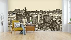 3d Buildings Hand Drawing 45 Wall Paper Wall Print Decal Wall Deco Indoor Murals