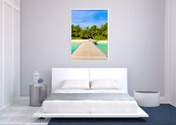 3d Coco River Bank 685 Fake Framed Poster Home Decor Print Painting Unique Art