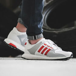 New ADIDAS ORIGINALS EQT SUPPORT ULTRA BOOST MENS SHOES BY9532 White Bold Orange