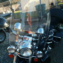 Clear Windshield Windscreen For Harley Davidson Touring Road King Flhr 1994-2021