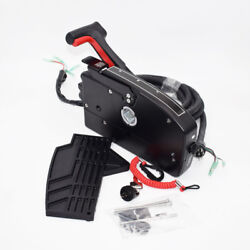 Boat Motor Side Mount Remote Control Box W 8 Pin Cable 15ft For Mercury Superb