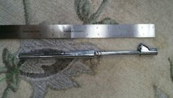 One Michelin Dual Head Usable Air Pressure Tire Gauge. Collectible. Overstock.