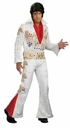 Rubieand039s Elvis Aloha From Hawaii Collector Jumpsuit Costume Xl
