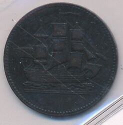 Canada Token Ships Colonies And Commerce Breton 997 Pei Pe10-27 - Iccs Vf-30