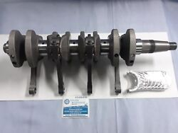 Mercury 115 Hp Outboard Rebuilt Crankshaft And Rods With New Bearings Main And Rods
