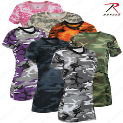 Rothco Women's Long Length Camo T-Shirt $10.99