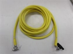 1/0 Awg Gauge Port Engine Electrical Wire 20' Yellow Marine Boat