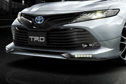 Trd Unpainted Front Spoiler W. Led For Toyota Camry 7 Ms341-33002-np