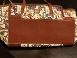 DOONEY BOURKE DISNEY BEAUTY AND THE BEAST LARGE TOTE