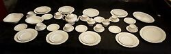 Spode Lyric Y7690 Place Settings For 8 And Serving Pieces - Total Of 48 Pieces