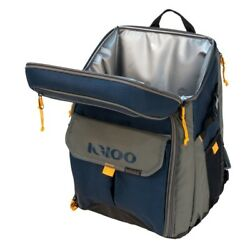 Backpack Cooler Bag Blue Insulated Large Hiking Camping Picnic Food Lunch Box