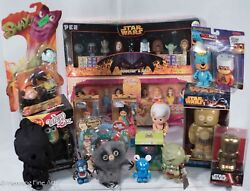 Lot Of 17 Rare Collectible Toys, Some Vintage, Custom Disney Vinylmation Le 1/1