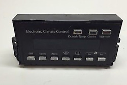 85-93 Cadillac Deville climate control (US)