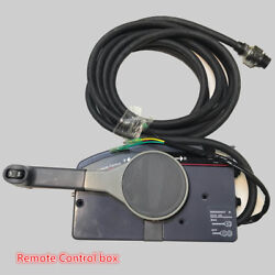 Boat Outboard Remote Control Box for Yamaha 10Pin Cable Right Hand PUSH