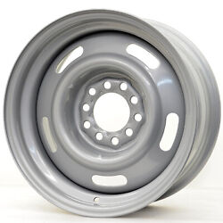 Hot Rod Hanks 55 Rally 15x8 5x114.3/5x120.65 Offset -6 Silver Quantity Of 4