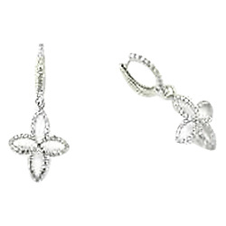 Diamond Over Earrings
