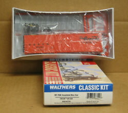 Walthers 932-4774 Ho Rio Grande 50' Fge Insulated Boxcar Kit 61260