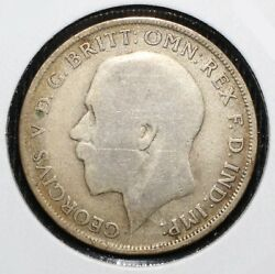1921 Great Britain One Florin Coin - 01487