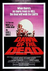 Dawn Of The Dead ✯ Cinemasterpieces Movie Poster Zombie Horror Walking 1978 Nm-m