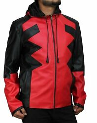 Deadpool Corp Game Leather Jacket Costume