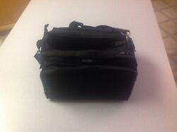 Bulldog Cases Deluxe Range Bag w Strap Black BD910