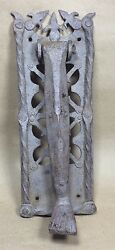 Gothic Forged Iron Doorknocker Leg And Foot Shape 16-17th Century