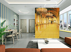 3D Candlelight Hall 5 Wall Paper Wall Print Decal Wall Deco Indoor Mural Carly
