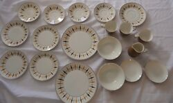 Vintage Mikasa Cera Stone Nordic 3041 W Made In Japan China 19 Pieces
